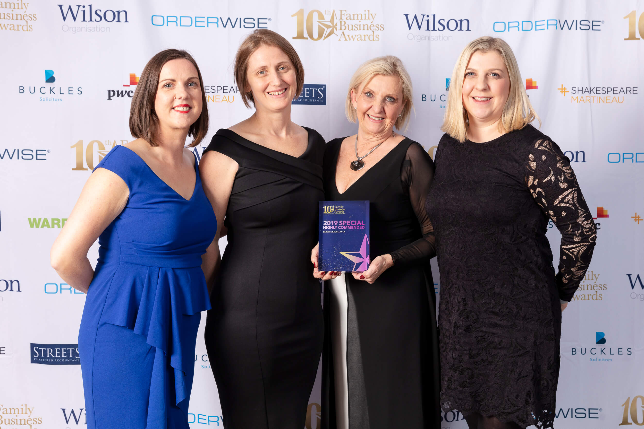 Absolute Works receives 'Special Highly Commended' for Service Excellence in the prestigious Midlands Family Business Awards