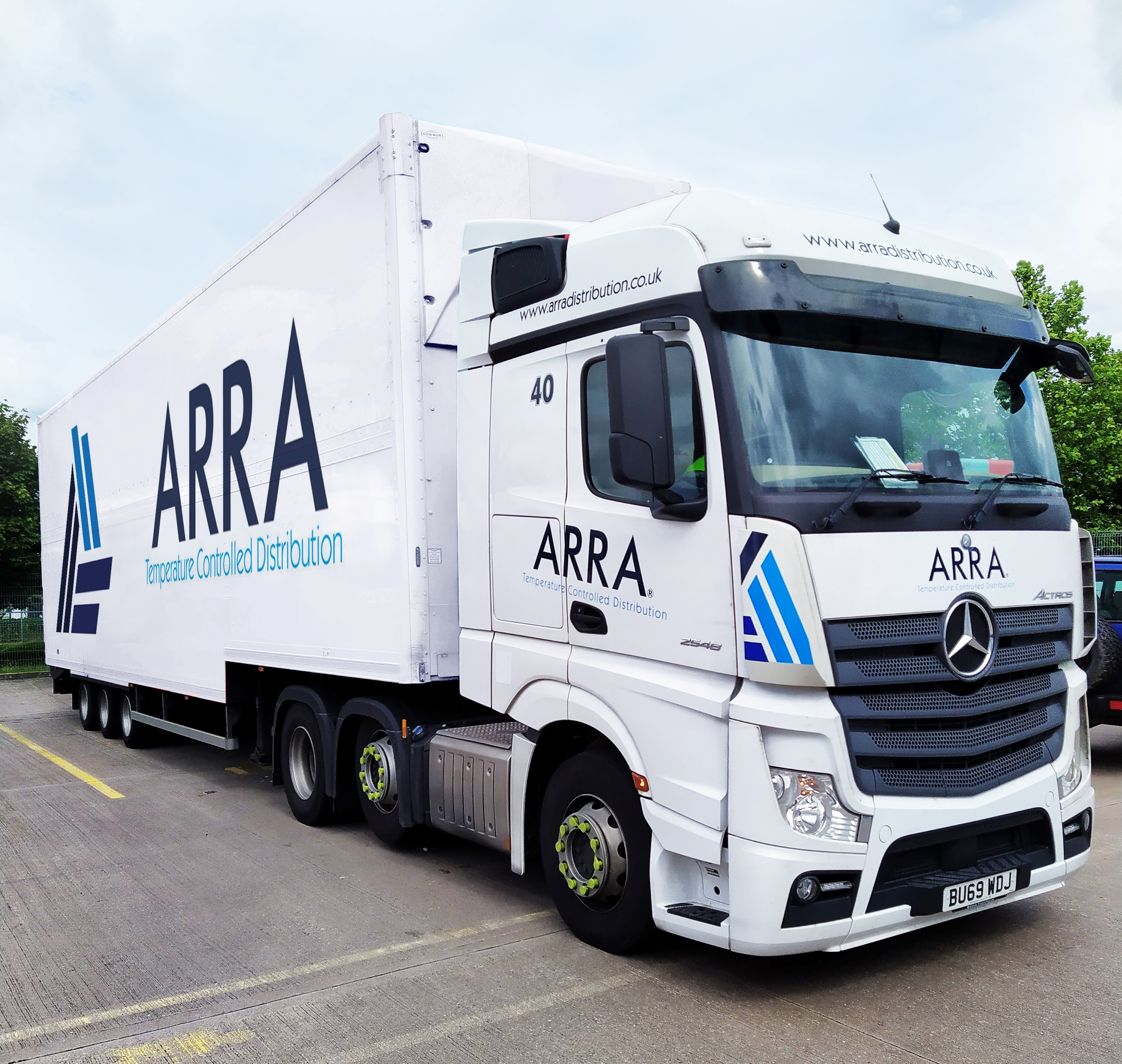 Image for TruTac software maintains cool compliance for Arra Distribution